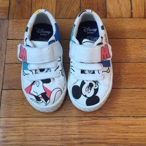 Zara Baby Mickey Mouse Sneakers